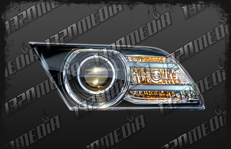 2013 Mustang Headlight