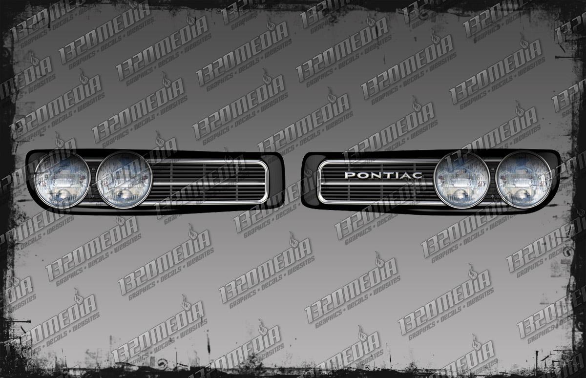 2008 Pontiac G6 Gxp >> 1967-68 Firebird: 1968 Firebird Grill