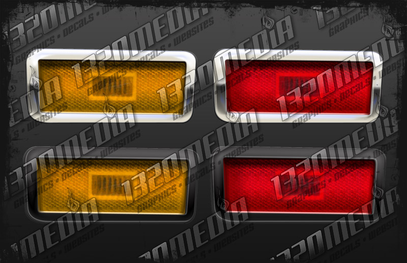 1970-71 Duster Marker Lights
