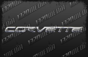 C7 Corvette Emblem Decal