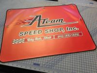 Ateam Speedshop Tire Cover