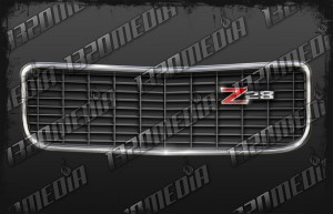 70.5 Camaro Grille Decal