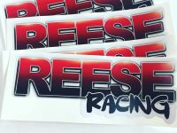 Reese Racing Decals