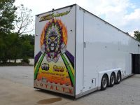William Racing Trailer Door